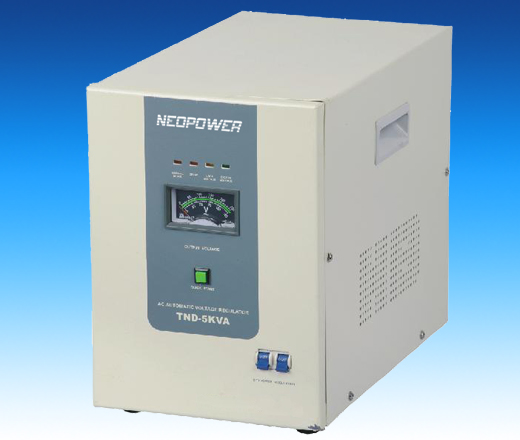 Servo Controlled Voltage Stabilizers(TND series)