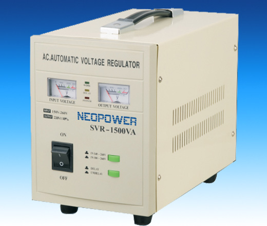 Single phase voltage stabilizer AVR series